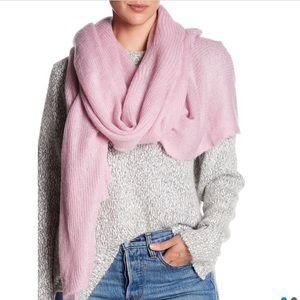 NWT Free People waffle knit scarf